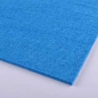 Фетр (для рукоделия) сине-голубой (2мм) ш.100 оптом