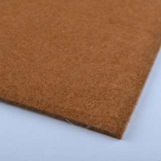 Фетр (для рукоделия) коричнево-рыжий (2мм) ш.100 оптом