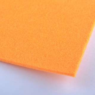 Фетр (для рукоделия) оранжевый (2мм) ш.100 оптом