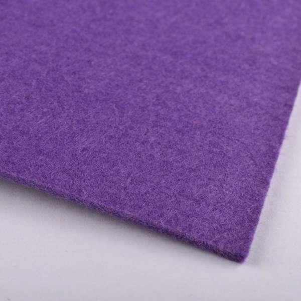 войлок (для рукоделия) фиолетовый (2мм) ш.100 оптом