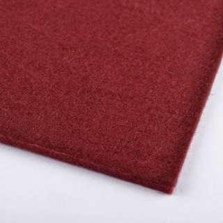 Войлок (для рукоделия) бордовый (2мм) ш.100 оптом
