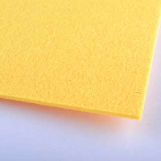 Фетр (для рукоделия) желто-мандариновый (2мм) ш.100 оптом