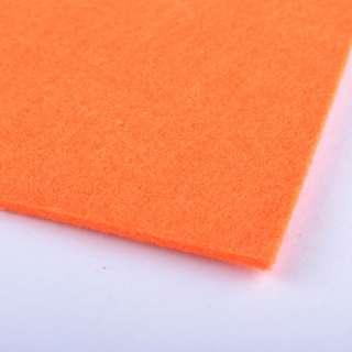 Войлок (для рукоделия) морковный (2мм) ш.100 оптом