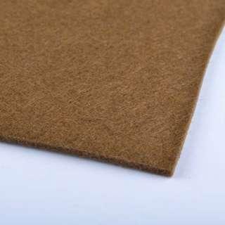 Войлок (для рукоделия) коричневый (2мм) ш.100 оптом