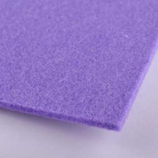 Фетр (для рукоделия) бледно-фиолетовый (3мм) ш.100 оптом