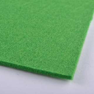 Фетр (для рукоделия) зеленый (весенний) (3мм) ш.100 оптом