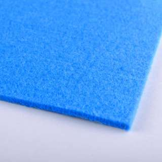 Фетр (для рукоделия) сине-голубой (3мм) ш.100 оптом