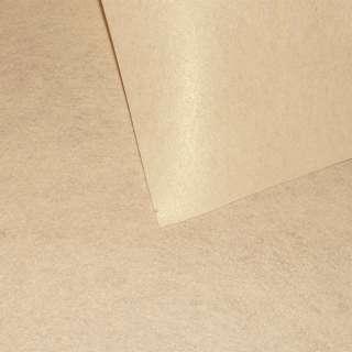 Войлок синтетический для рукоделия песочный (0,95мм) ш.85 оптом
