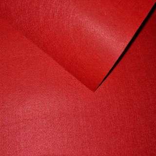 Фетр (для рукоделия) красный (0,9мм) ш.85 оптом
