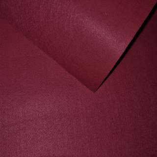 Фетр (для рукоделия) бордовый (0,9мм) ш.85 оптом
