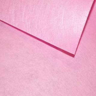 Фетр (для рукоделия) розовый светлый (0,9мм) ш.85 оптом
