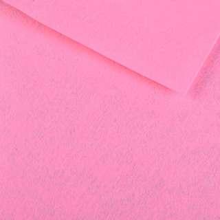 Войлок синтетический для рукоделия розовый (0,95мм) ш.85 оптом