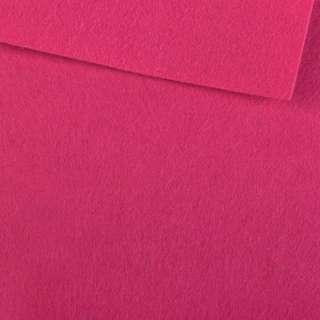 Повсть (для рукоділля) малинова (0,9 мм) ш.85 оптом