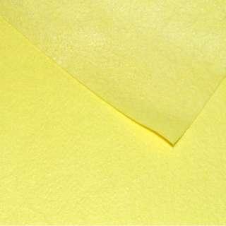Фетр (для рукоделия) желтый (0,9мм) ш.85 оптом