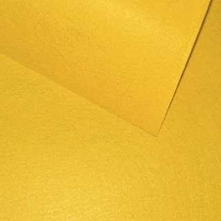 Повсть (для рукоділля) гірчично-жовта (0,9мм) ш.85 оптом