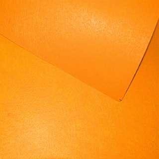Повсть синтетична для рукоділля помаранчева (0,95мм) ш.85 оптом