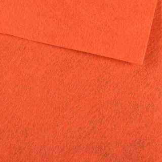 Войлок (для рукоделия) морковный (0,9мм) ш.85 оптом
