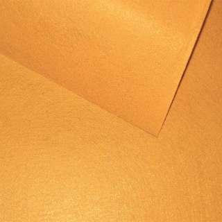 Фетр (для рукоделия) горчичный (0,9мм) ш.85 оптом