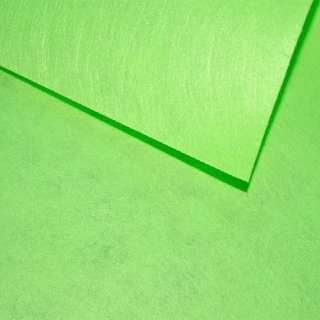 Войлок синтетический для рукоделия салатовый (0,95мм) ш.85 оптом