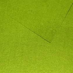 Войлок синтетический для рукоделия зеленый (0,95мм) ш.85