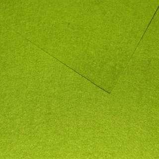 Войлок синтетический для рукоделия зеленый (0,95мм) ш.85 оптом