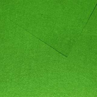 Войлок синтетический для рукоделия зеленый лесной (0,95мм) ш.85 оптом