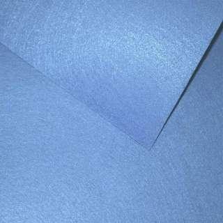 Войлок синтетический для рукоделия васильковый (0,95мм) ш.85 оптом