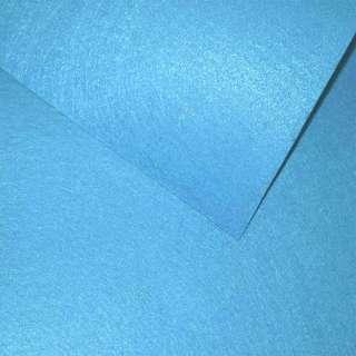 Повсть (для рукоділля) блакитна яскрава (0,9мм) ш.85 оптом