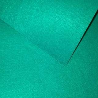 Войлок синтетический для рукоделия бирюзовый (0,95мм) ш.85 оптом