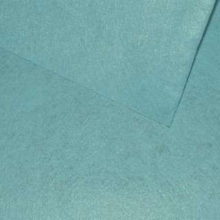 Войлок синтетический для рукоделия голубой лазурный (0,95мм) ш.85 оптом