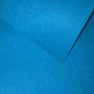 войлок (для рукоделия) синий яркий (0,9мм) ш.85 оптом