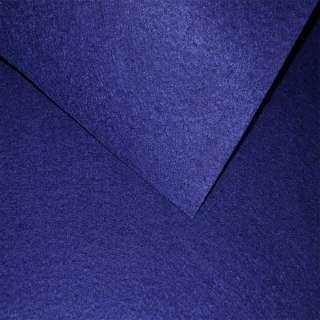 Повсть (для рукоділля) синя сапфірова (0,9мм) ш.85 оптом