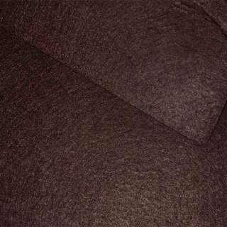 Фетр (для рукоделия) коричневый темный (0,9мм) ш.85 оптом