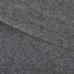 Войлок синтетический для рукоделия серый темный (0,95мм) ш.85