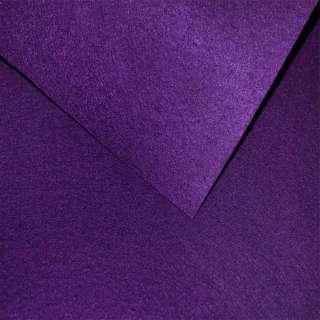 Войлок синтетический для рукоделия фиолетовый темный (0,95мм) ш.85 оптом