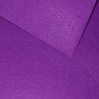 Войлок синтетический для рукоделия пурпурный темный (0,95мм) ш.85 оптом