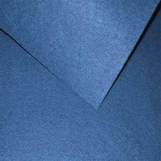 Войлок синтетический для рукоделия синий кобальтовый(0,95мм) ш.85 оптом