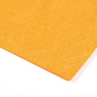 Войлок синтетический для рукоделия (0,9мм) оранжевый ш.150 оптом