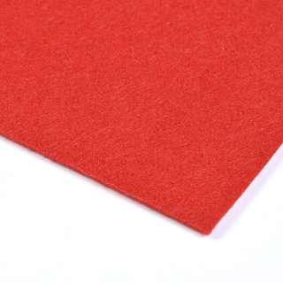 Войлок синтетический для рукоделия (0,9мм) красный ш.150 оптом