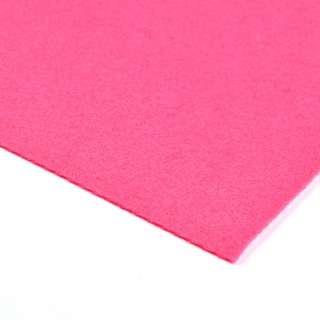 Войлок синтетический для рукоделия (0,9мм) малиновый ш.150 оптом