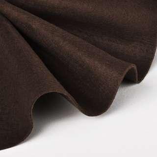 войлок (для рукоделия) мягкий коричневый (1,6мм) ш.140 оптом
