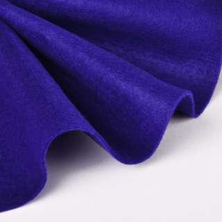 Войлок синтетический для рукоделия мягкий (2мм) ультрамарин, ш.85 оптом