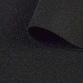 войлок (для рукоделия) черный (1,2мм) ш.150 оптом