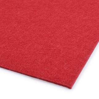 Повсть (для рукоділля) червона (2 мм) ш.100 оптом