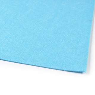 войлок (для рукоделия) голубой (2мм) ш.100 оптом