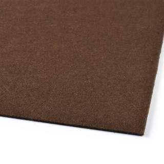 войлок (для рукоделия) шоколадный (2мм) ш.100 оптом