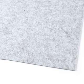 войлок (для рукоделия) серый светлый меланж (2мм) ш.100 оптом