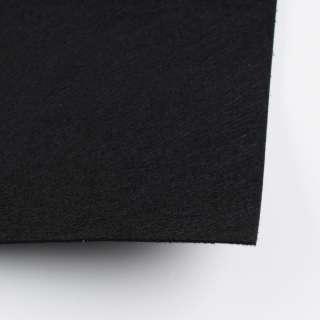 Фетр (для рукоделия) черный (2мм) ш.100 оптом