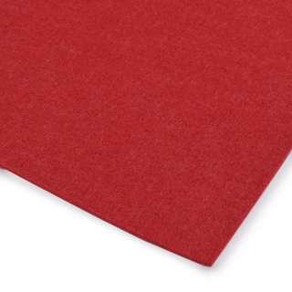 Войлок (для рукоделия) красный (3мм) ш.100 оптом