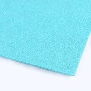 войлок (для рукоделия) голубой лазурный (3мм) ш.100 оптом